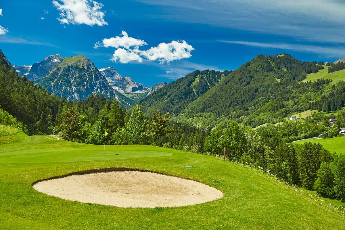 Golfplatz Brand in Österreich