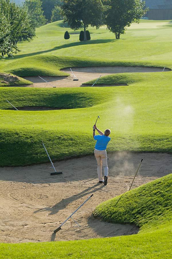 Golfplatz Lipperswil in der Schweiz