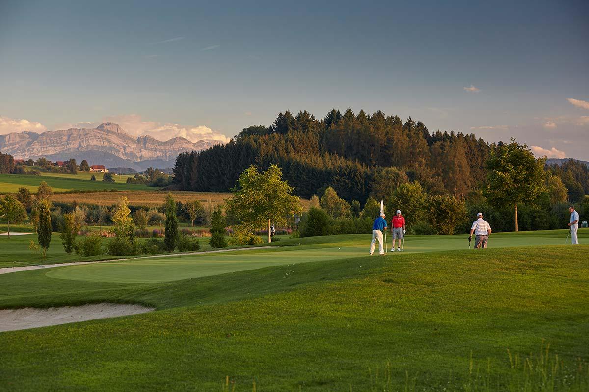 Golfplatz Waldkirch in der Schweiz